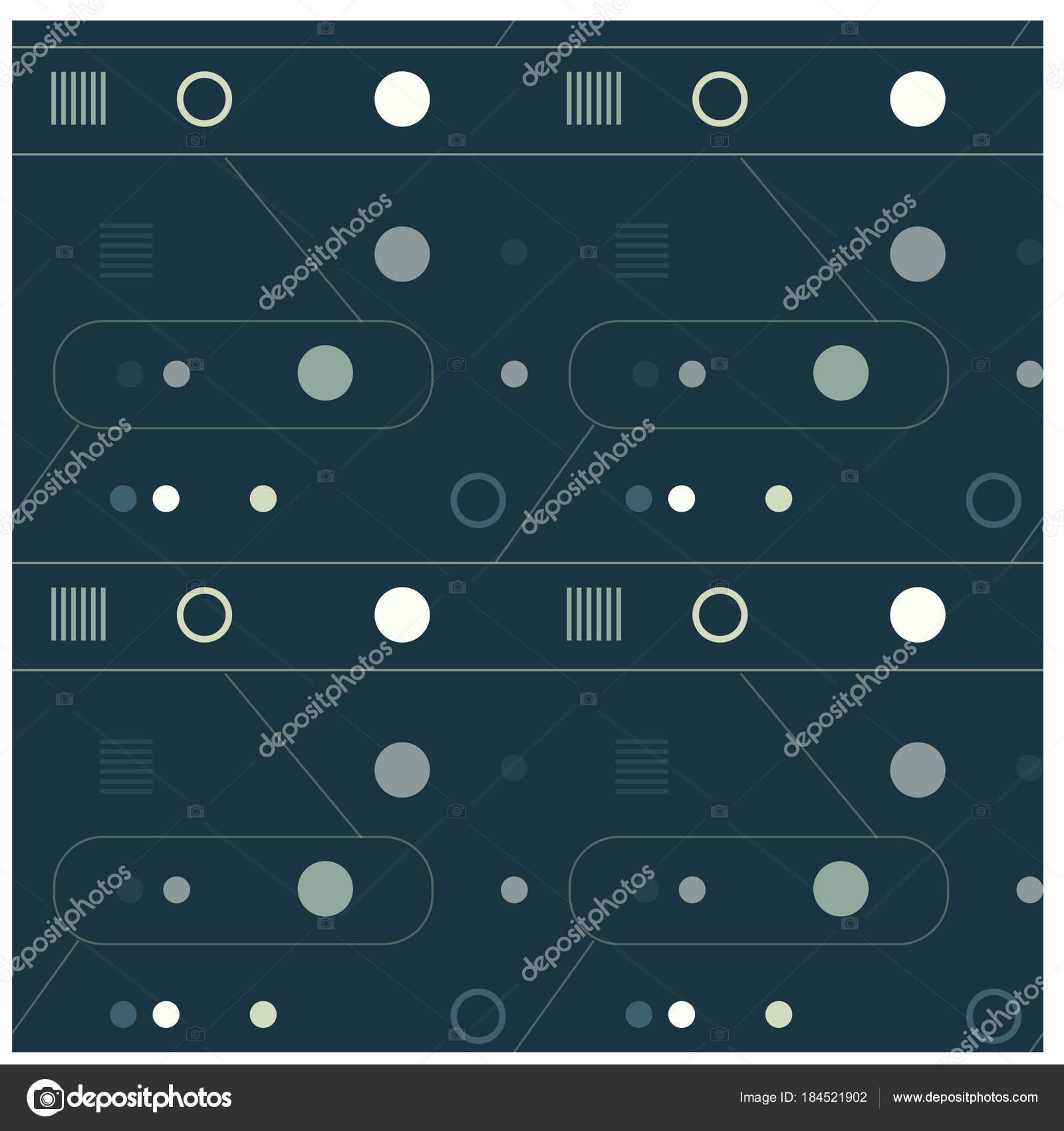 mechanism and abstract interface seamless pattern stock vector rh depositphotos com