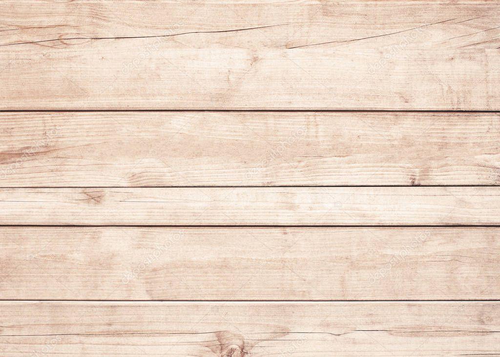 갈색 나무 판자, 벽, 테이블, 천장 또는 바닥의 표면. 나무 질감 ...