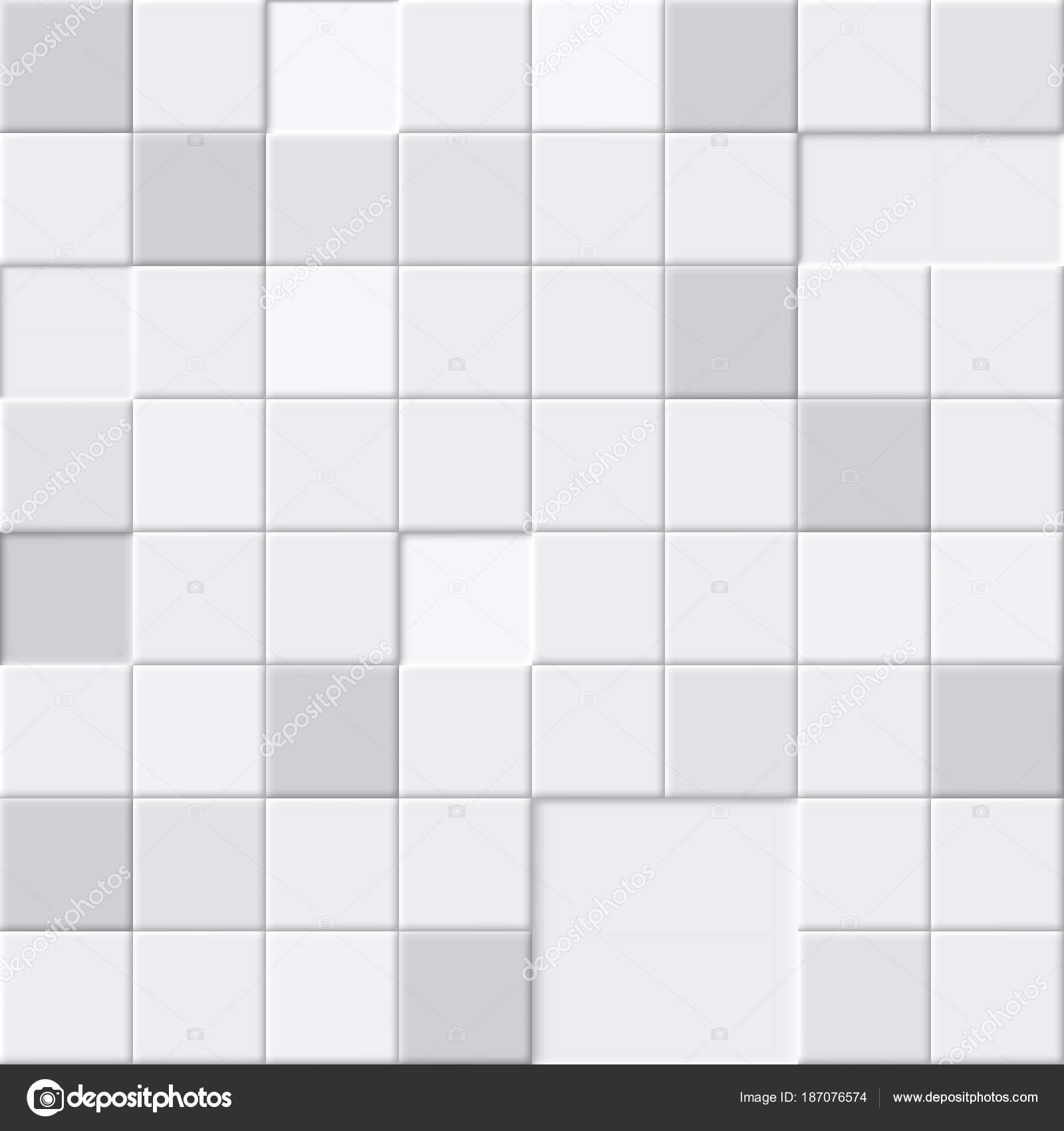 Weißen abstrakten nahtlose Muster, Badezimmer oder Boden ...