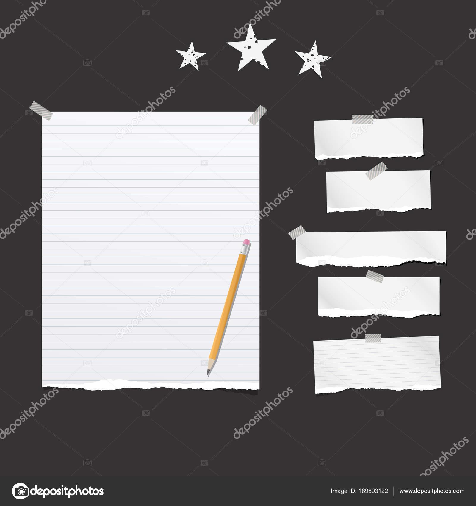 Fumar Papel De Libreta Forrado De Piezas De Color Blanco Roto Y