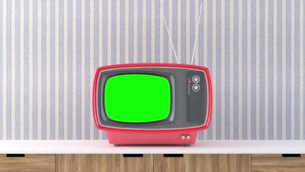 Retro televízió komód