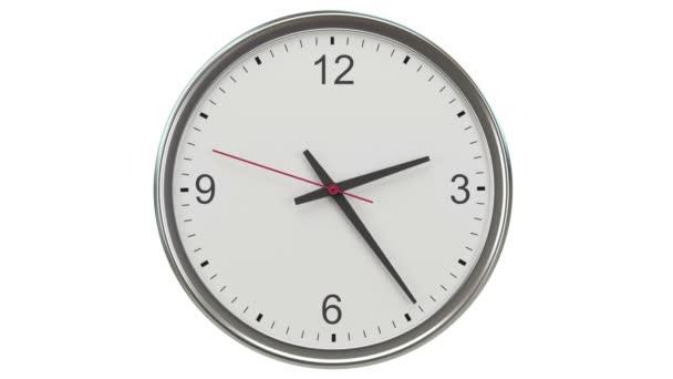 Video animace odpočítávání hodiny - Loopable