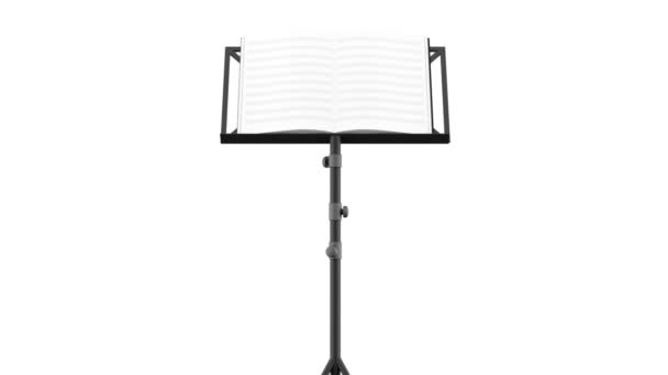 Music Note Stand Video