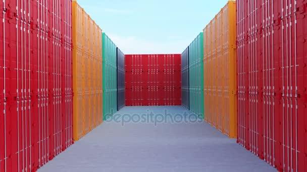 Kontejnerů pro logistické Import Export podnikání