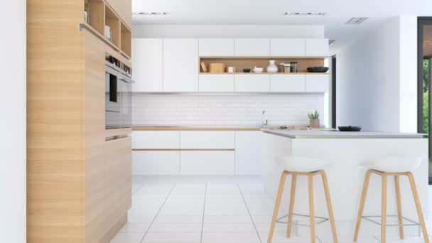 Moderní minimalistické kuchyně video