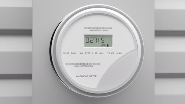 Electric Power Meter Video