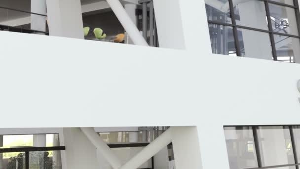 Moderní školní budova Video