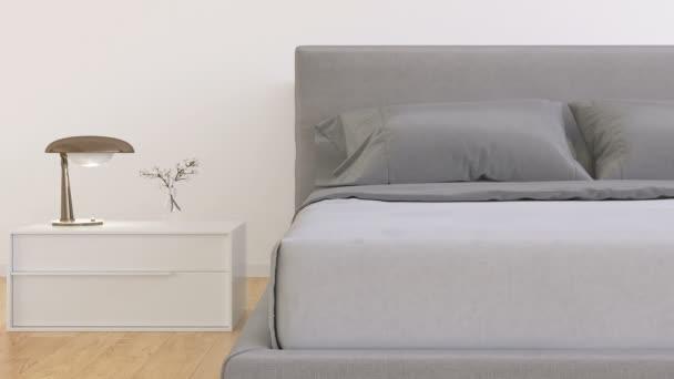 Moderní interiér ložnice video