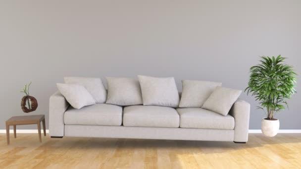 Zero Gravity kanapé a nappaliban