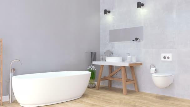 Belső fürdőszoba videó