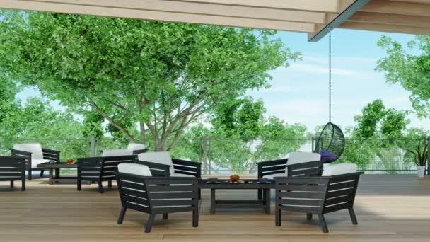 Video einer modernen Luxusvilla