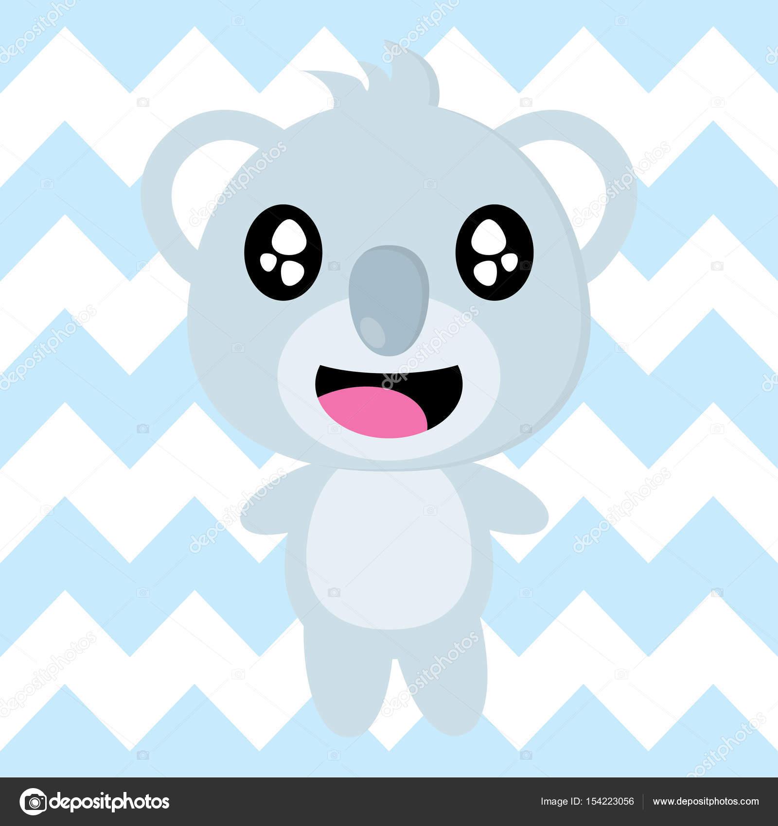 Download Wallpaper Koala Cartoon - depositphotos_154223056-stock-illustration-cute-koala-is-happy-on  Picture_431142   .jpg