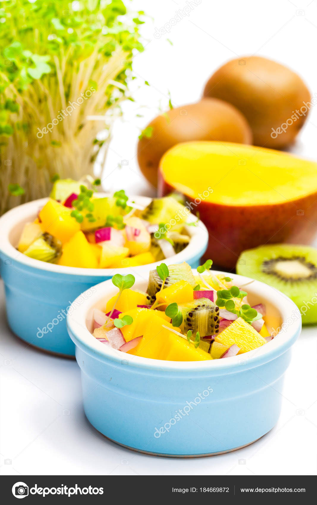 Салат из киви диетический