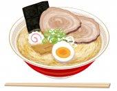 Fotografie Soja-Sauce Ramen japanisches Essen