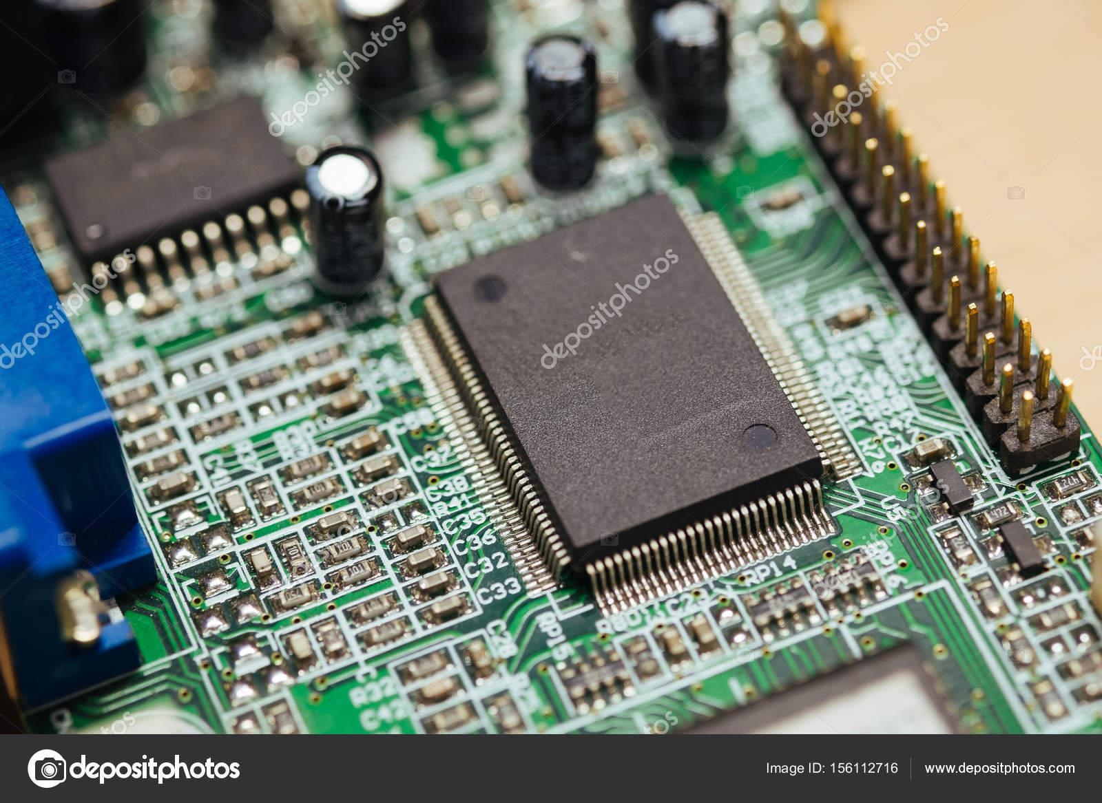 Electronic PCB board — Stock Photo © hendraxu #156112716