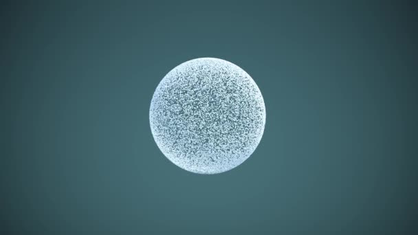 Sphere of many elements. 3D illustration