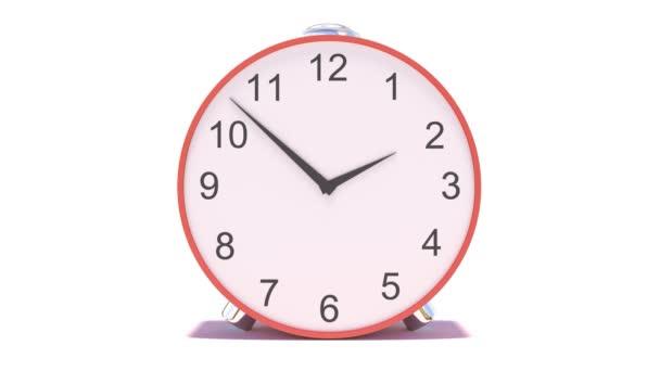Hodiny odpočítávají 24 hodin denně Rychlá rychlost. 3D ilustrace