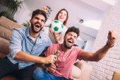Fényképek multi labdarúgó rajongó, szurkolni csoport