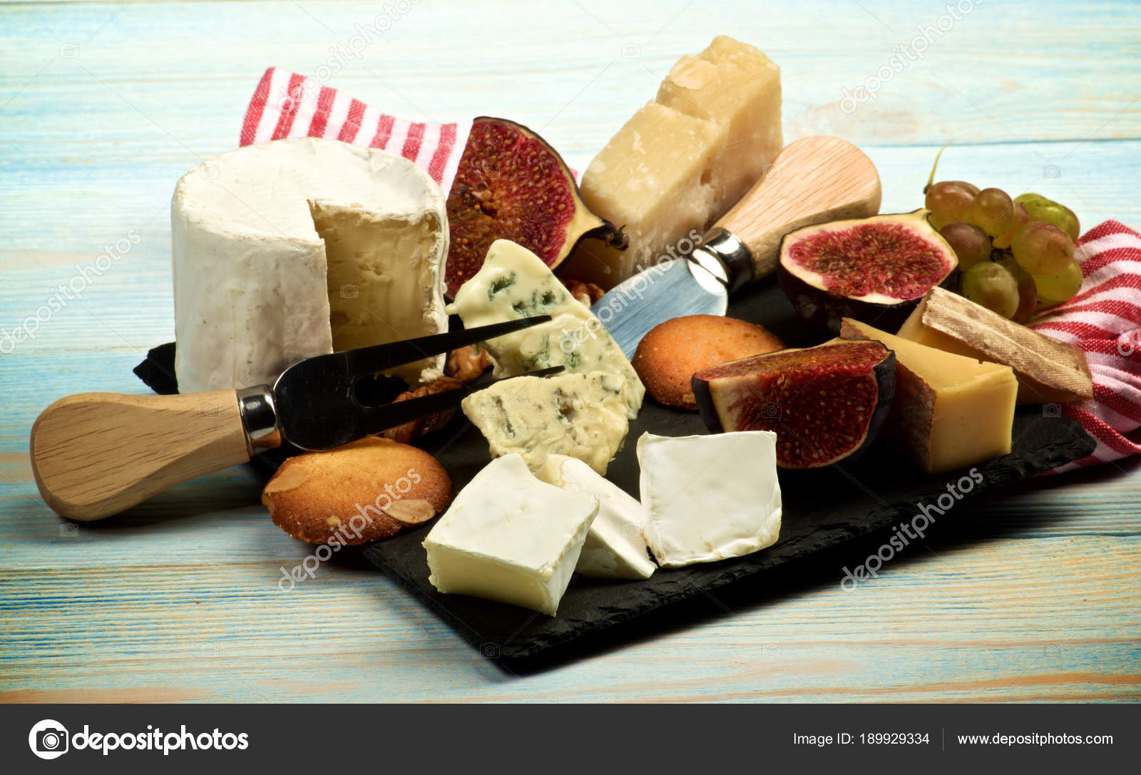 Gourmet Cheese Plate u2014 Stock Photo & Gourmet Cheese Plate u2014 Stock Photo © zhekos_ #189929334