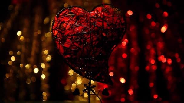 Valentinky srdce clours Bokeh
