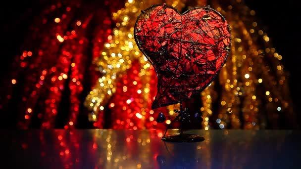 Valentin szív clours Bokeh