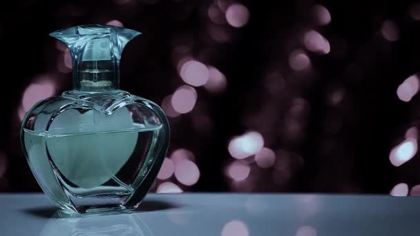 Vintage Perfume Hd video colours bokeh