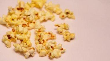 Pop Corn makro záběry studio light