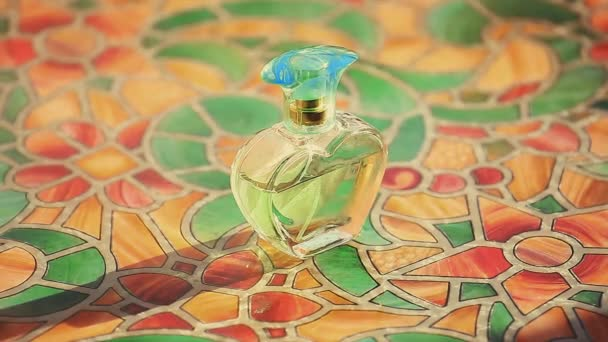 Glass Perfume Bottle Spring Smoke