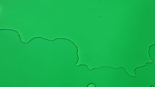 Water wave Green background