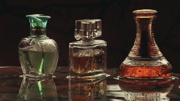 goccia di pioggia bottiglia di vetro Profumo