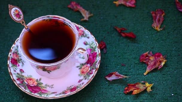 Reggel angol fekete tea felvétel