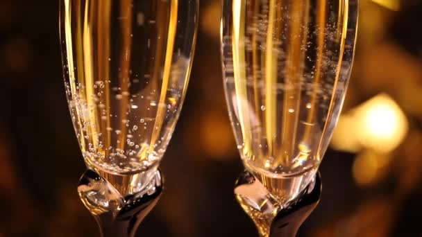 Champagner sprudelt Studioqualität
