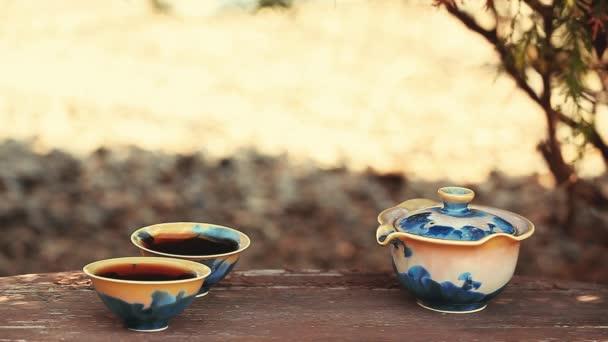 Černý čínský čaj Puer