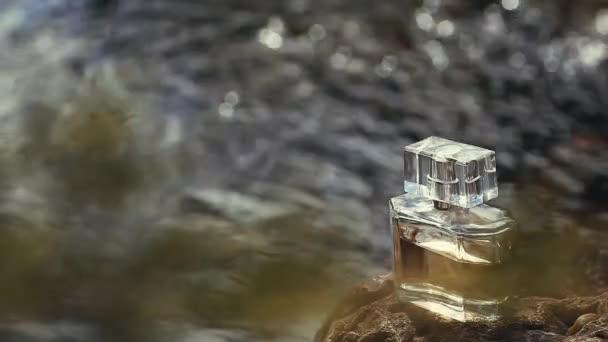 Glass Perfume Bottle spring river