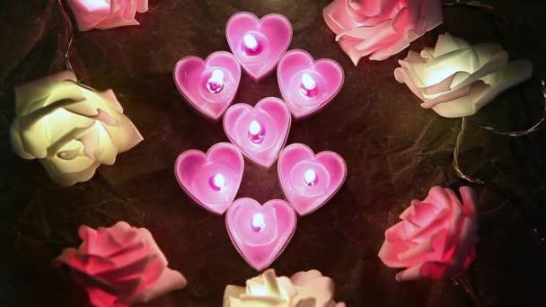 květina svíčka pergamen papír pozadí hd záběry