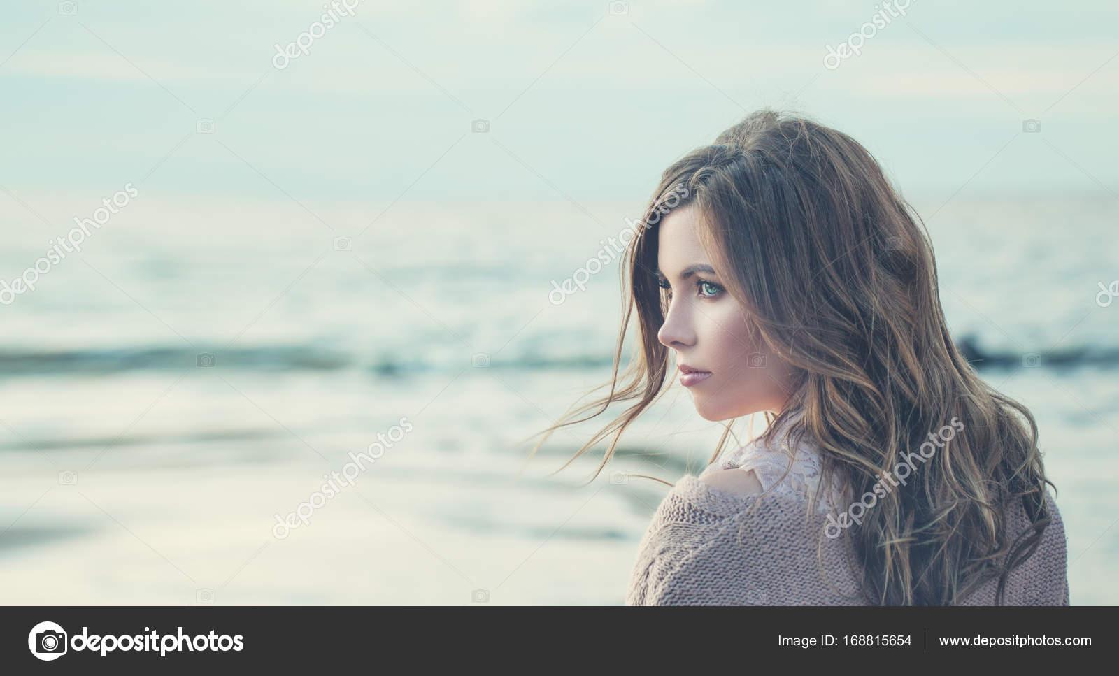 einsame Bilder von Mädchen