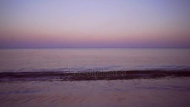 moře voda západ slunce