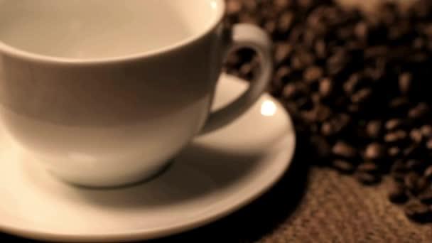 kávébab és a kupa