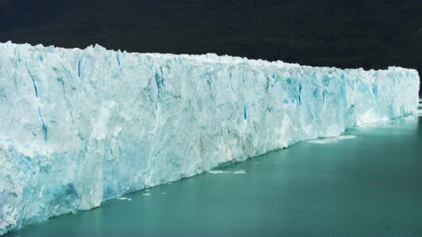 Towering Shot of the Glacier in Argentina at Night