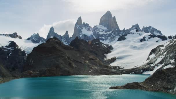 Breathtaking Scenery of the El Chalten Mountain Range in Santa Cruz Argentina