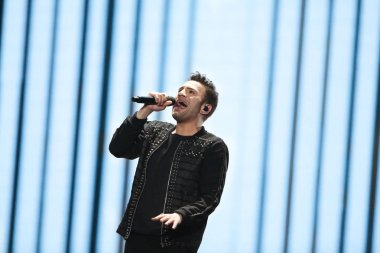 Hovig  from Cyprus at the Eurovision Song Contest