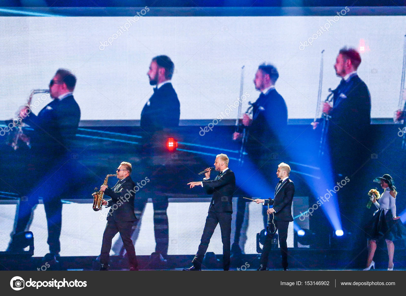 SunStroke Project from Moldova Eurovision 2017 – Stock