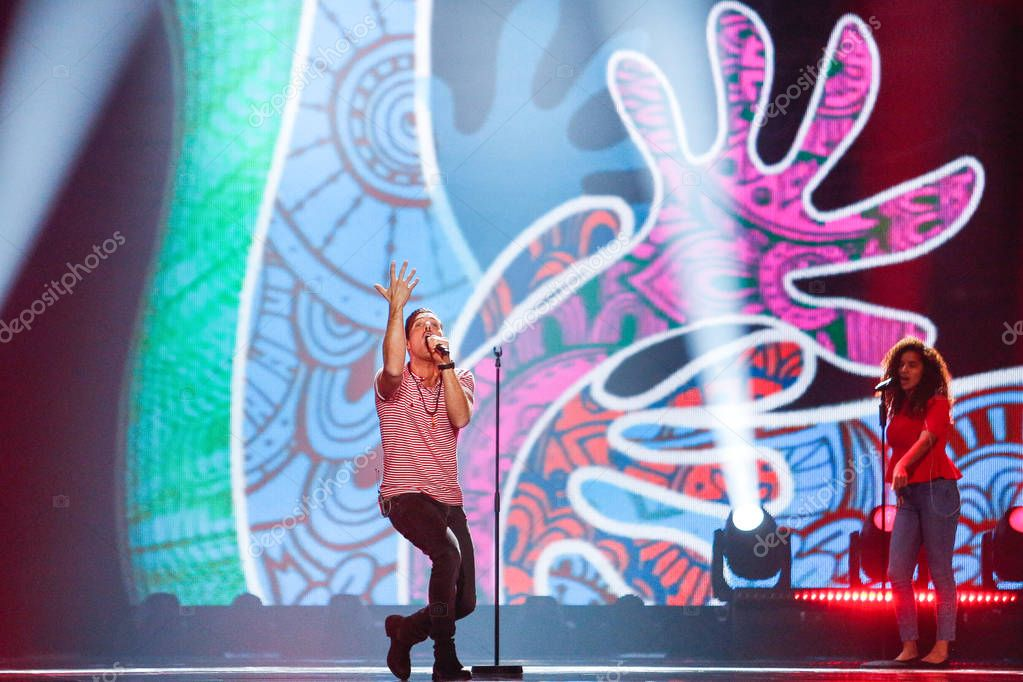 Francesco Gabbani from Italy Eurovision 2017