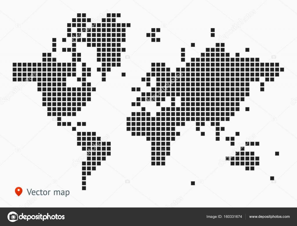 Abstract Map Of The World.Abstract Map Of The World Stock Vector C Uzhveko 160331674