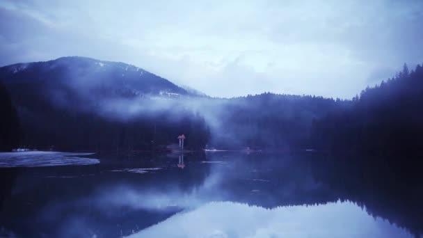 Karpaty se mlha