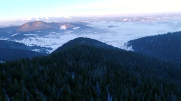 naplemente a Kárpát-hegység