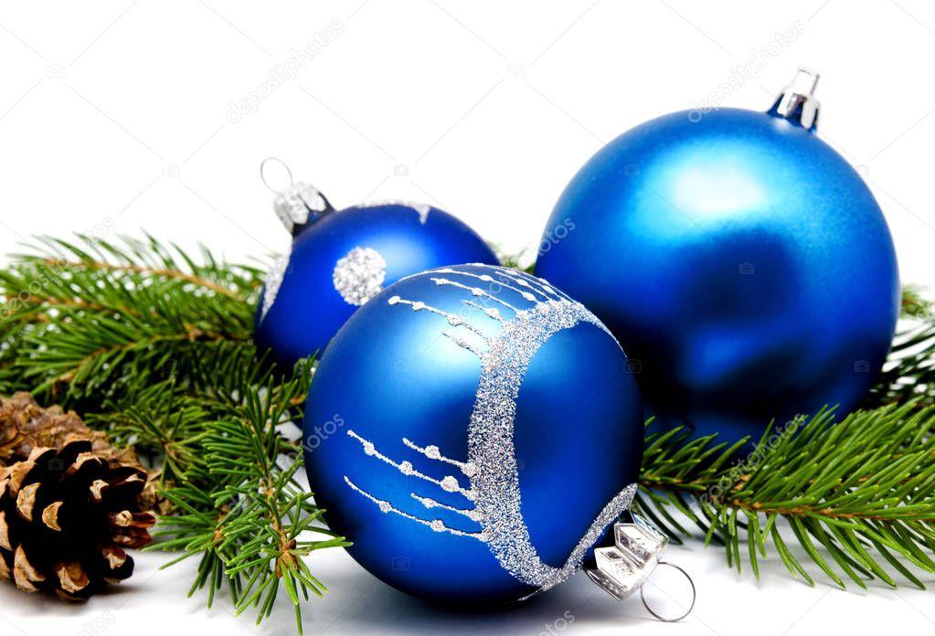 Weihnachten dekoration blaue kugeln mit tannenzapfen stockfoto svetamart 169151916 - Weihnachten dekoration ...