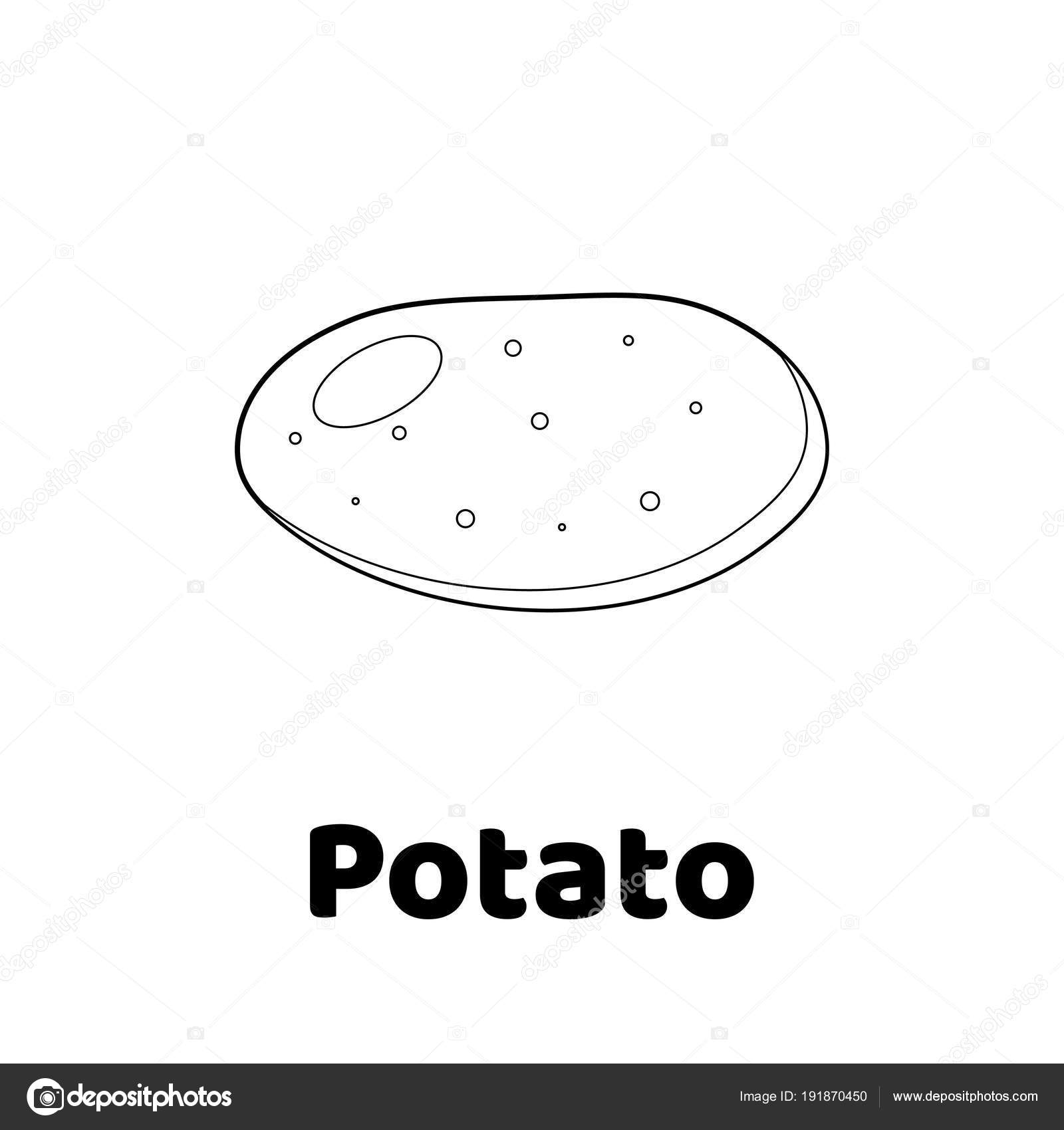 Vektor-Illustration. Spiel für Kinder. Gemüse. Malvorlagen ...
