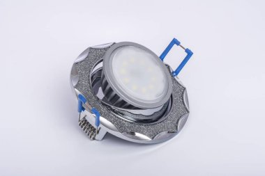 Recessed ceiling light and LED lamp to him