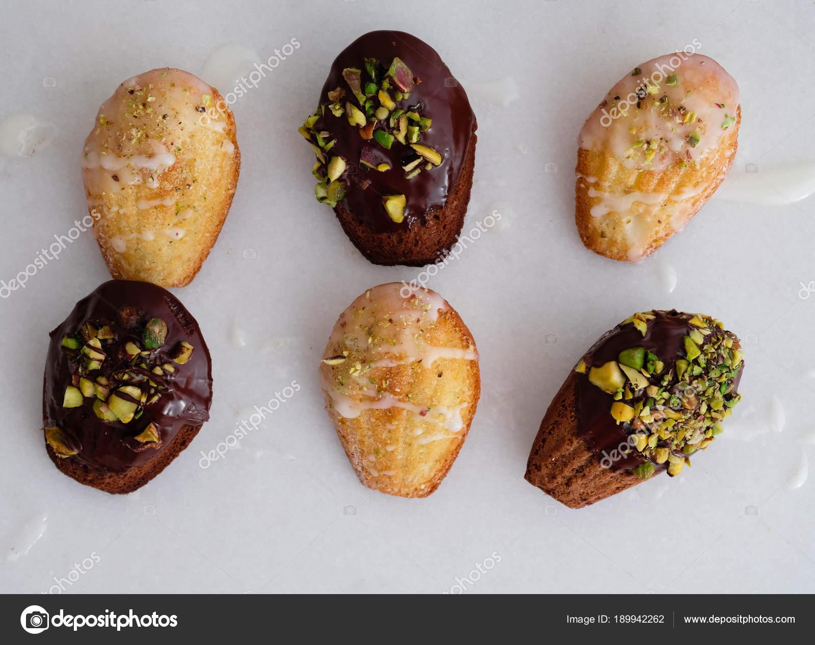 Madeleines Kleine Franzosische Kuchen Selbstgemachter Kuchen Auf